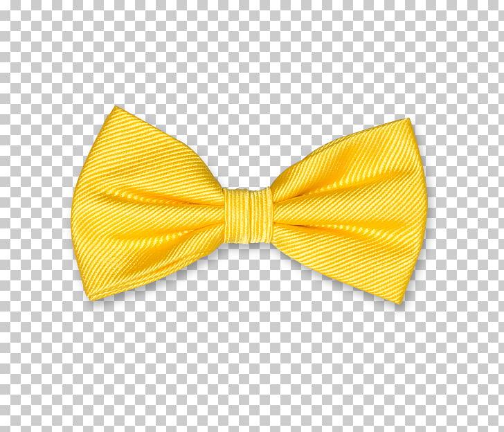 Bow tie Necktie Yellow Clothing Einstecktuch, BOW TIE PNG.