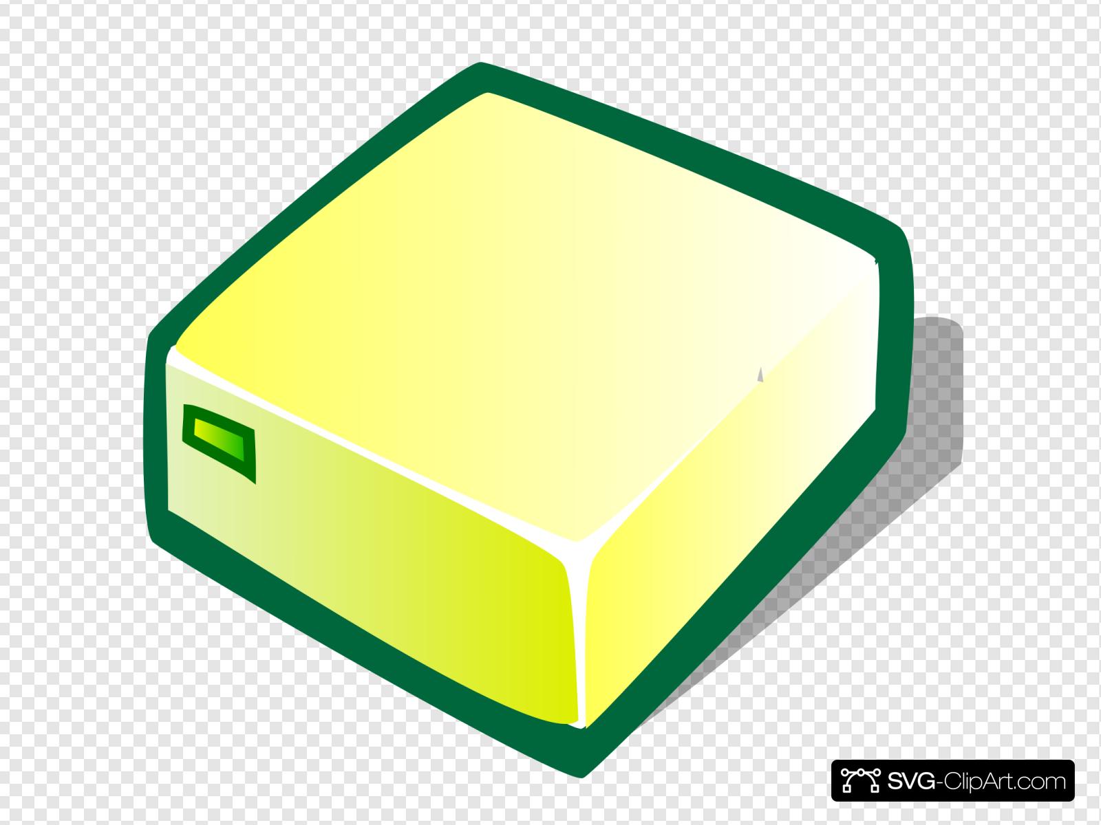 Yellow Box Clip art, Icon and SVG.