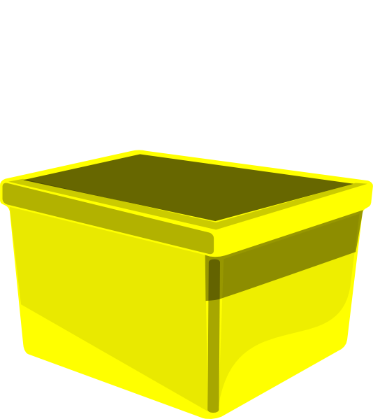 Clipart Yellow Square.