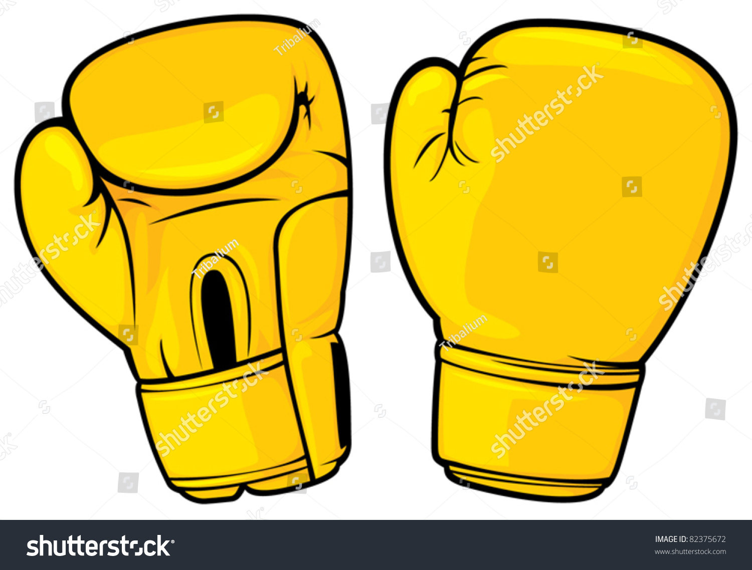 713 Boxing Gloves free clipart.