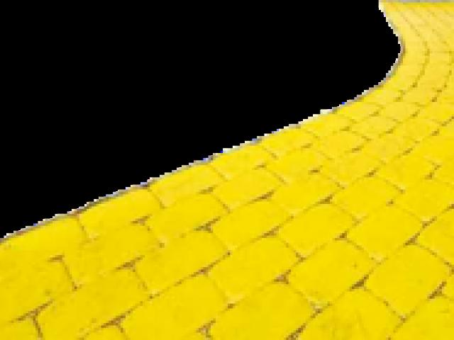 Path clipart yellow brick road, Path yellow brick road.