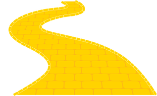 Yellow Brick Road Clipart.