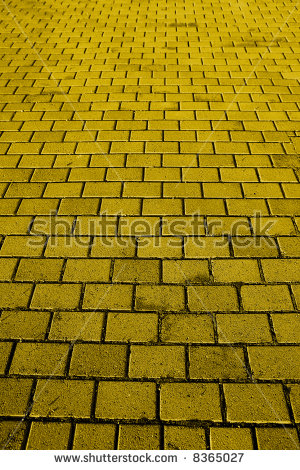Yellow Brick Road Stock Images, Royalty.