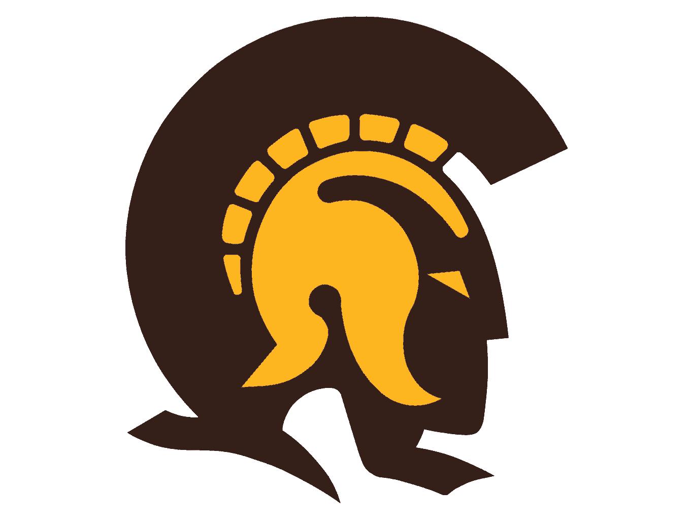 Trojans Yellow Brown.