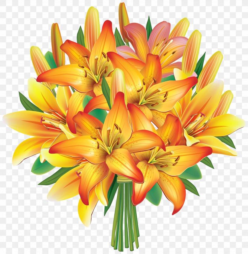 Flower Bouquet Wedding Invitation Clip Art, PNG, 3903x4000px.