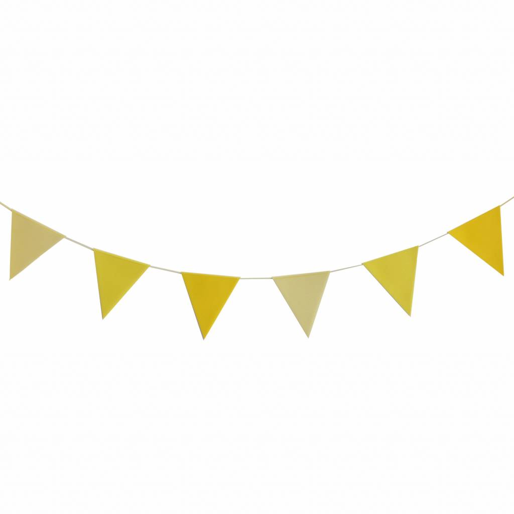 MY LITTLE DAY BUNTING PAPER FLAGS.
