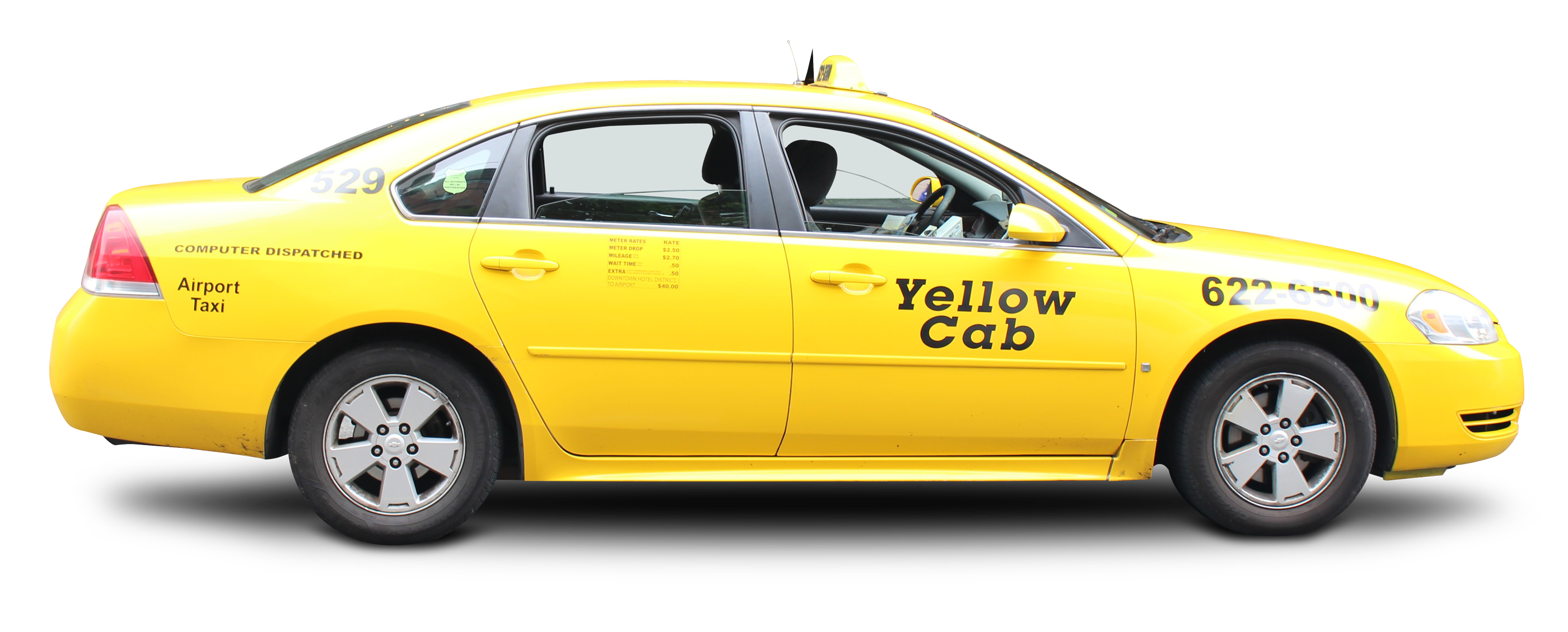 Taxi PNG Image.