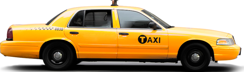 Taxi PNG images free download.