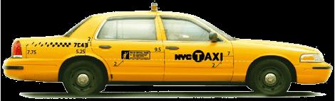 Taxi Cab Nyc transparent PNG.