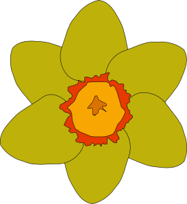 Yellow Flower clip art (115049) Free SVG Download / 4 Vector.
