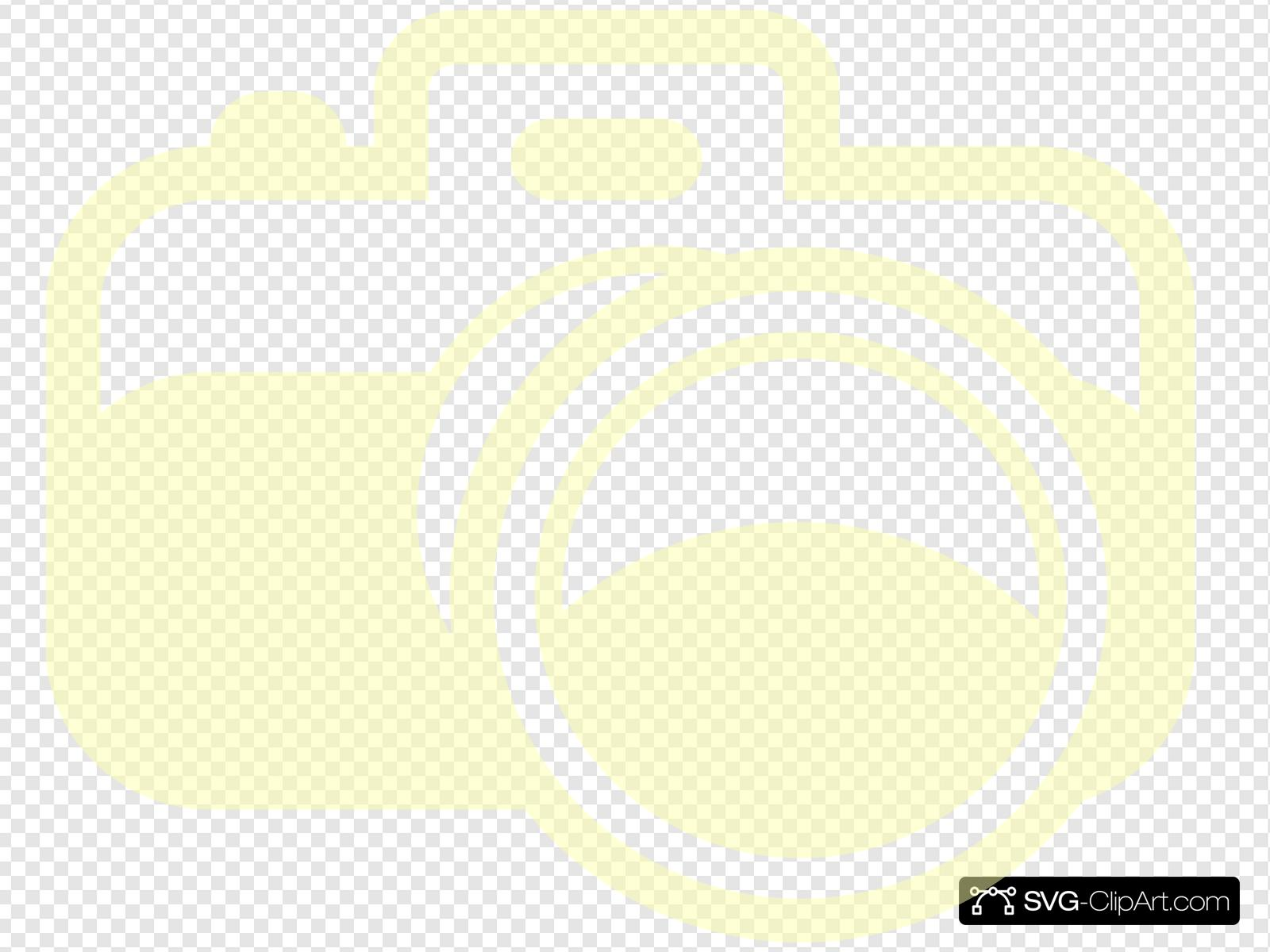 Yellow Camera Clip art, Icon and SVG.