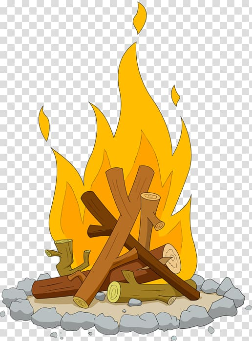 Drawing Campfire , campfire transparent background PNG.