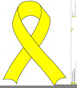 Cancer Support Ribbons Clipart.