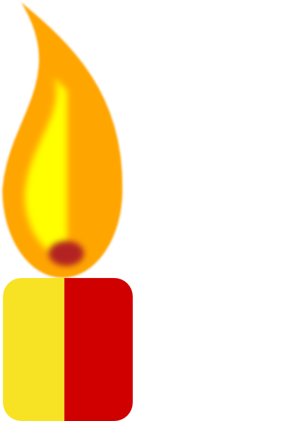 Yellow Candle Clip Art at Clker.