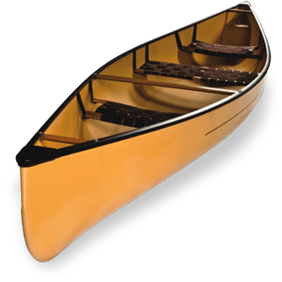Wooden Canoe transparent PNG.
