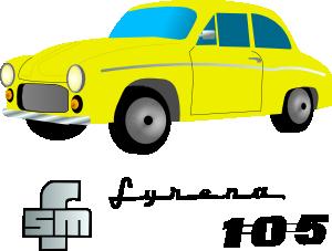 Yellow Car Vehicle Clip Art at Clker.com.