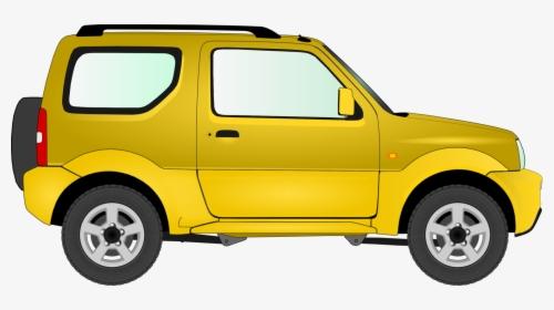 Transparent Yellow Car Png.