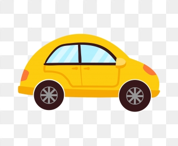 Yellow Car Png, Vector, PSD, and Clipart With Transparent Background.