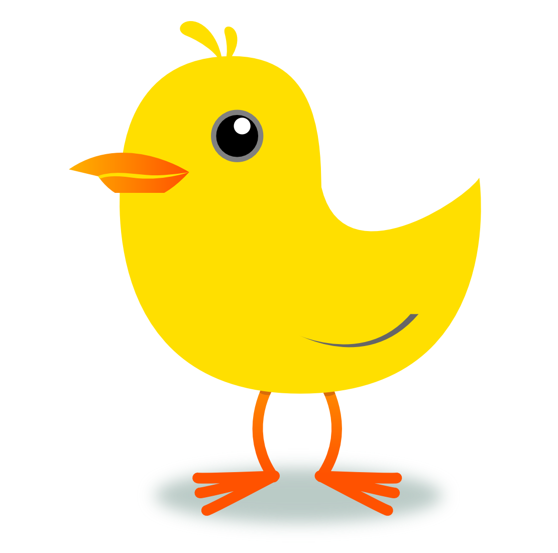Yellow Bird Clipart Png.