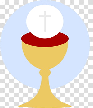 Grapes and chalice illustration, First Communion Eucharist.