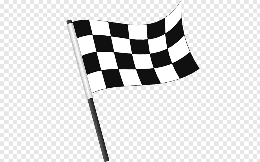 Black and white checkered race flag, Flag of the United.