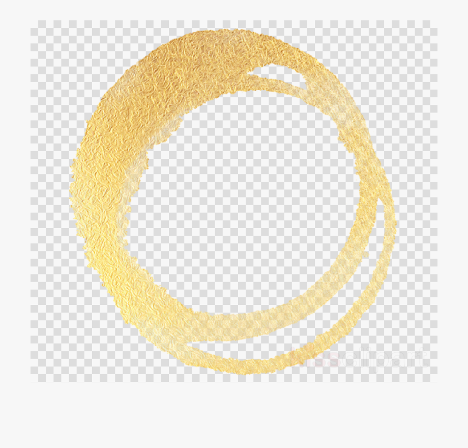 Circle Outline Png Yellow.