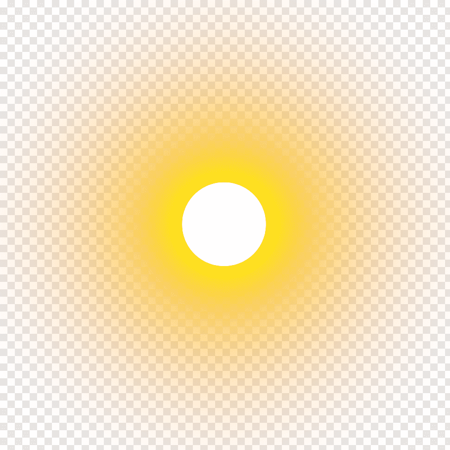 Yellow Circle, real sun, sun free png.