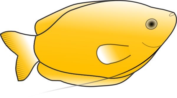 Yellow Fish Clip Art at Clker.com.