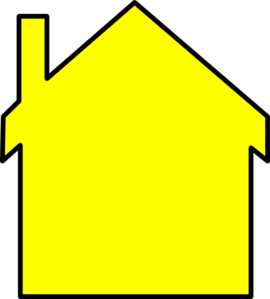 Yellow House Cliparts Free Download Clip Art.