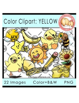 Color Objects: Yellow.