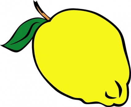 Yellow Objects Clipart For Kids.
