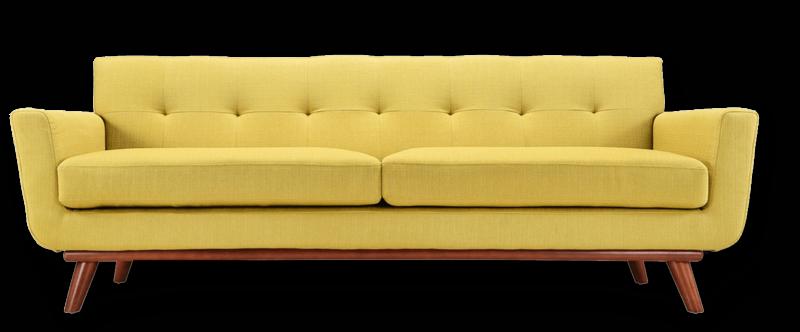 Download Free png Yellow Sofa Transparent PNG.