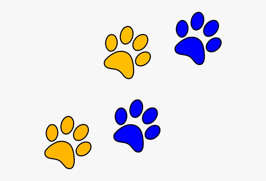 Cougar Paws Clip Art.