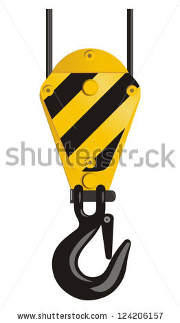 Crane Hoist Stock Images, Royalty.