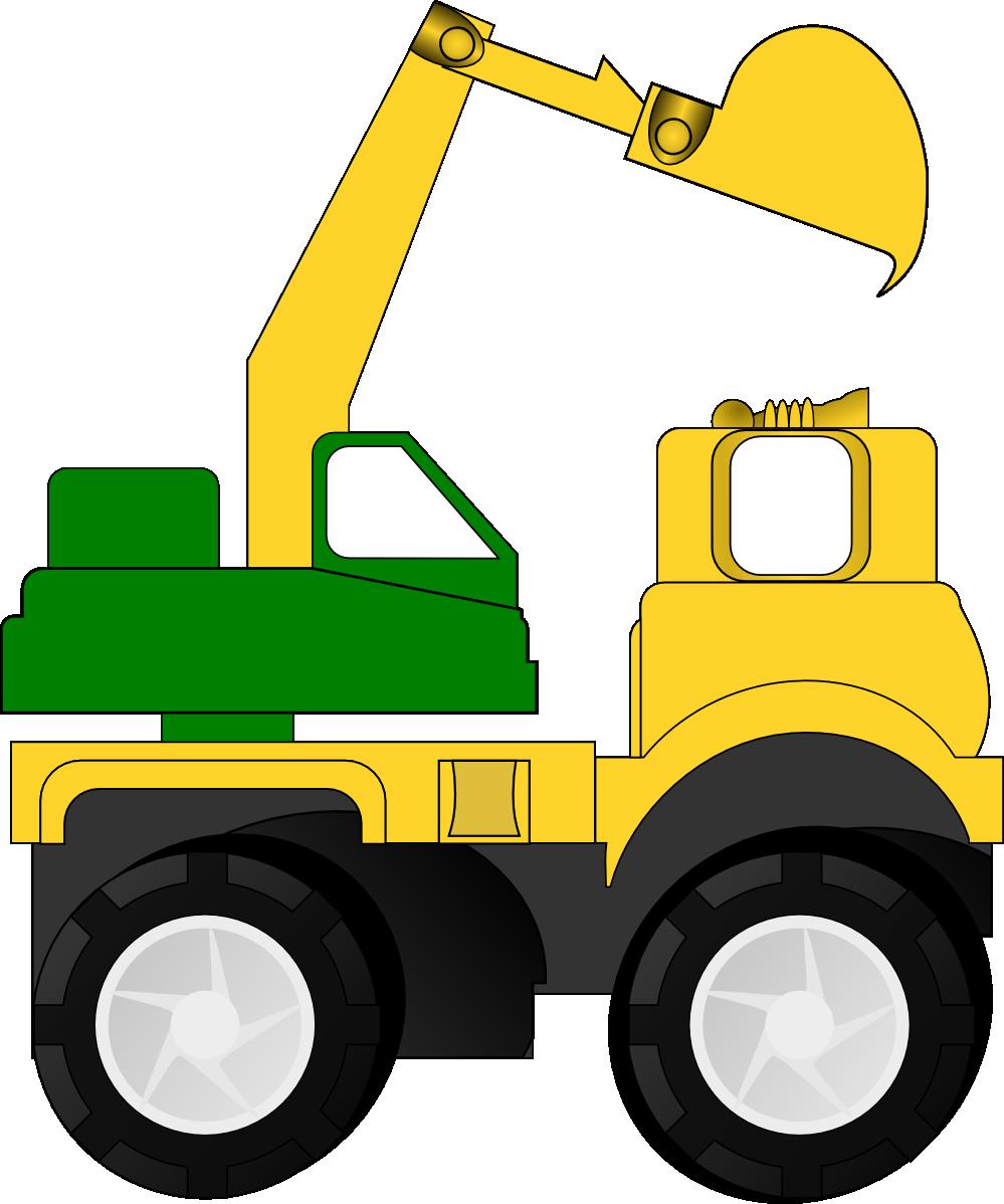 Crane truck clip art.