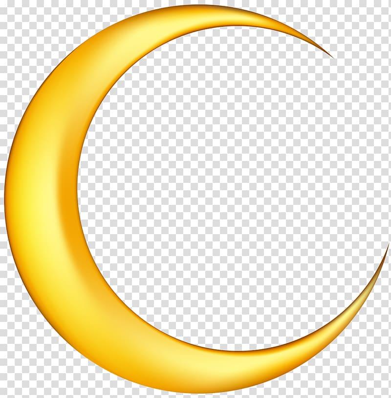 Crescent Moon , Moon Moon transparent background PNG clipart.