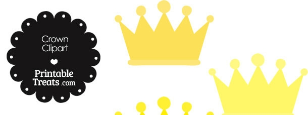 Yellow Crown Clipart.