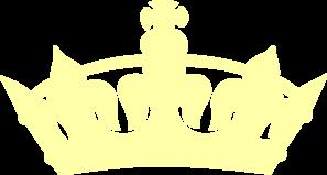 Yellow Crown Clip Art at Clker.com.