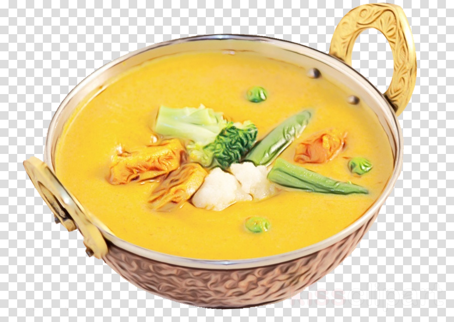 food dish cuisine yellow curry ingredient clipart.