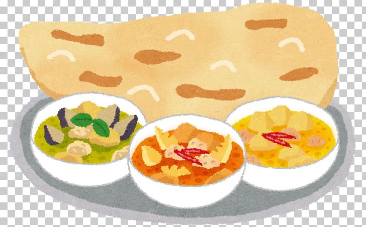 Indian Cuisine Naan Japanese Curry Yellow Curry Red Curry.