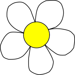 Black And Yellow Daisy Clip Art at Clker.com.