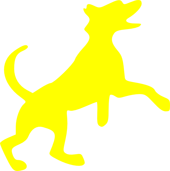 Yellow Dog Clip Art at Clker.com.