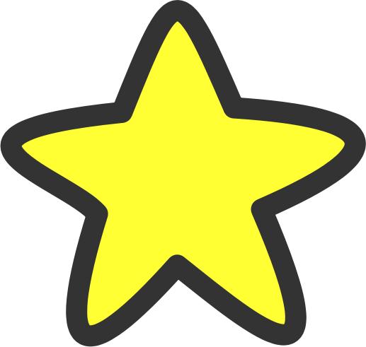 Yellow Stars Clipart.