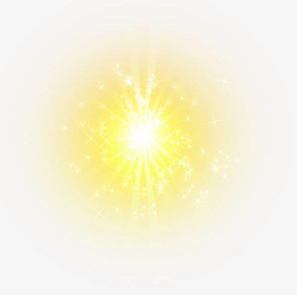 Yellow Light Effect Element PNG, Clipart, Effect, Effect Clipart.