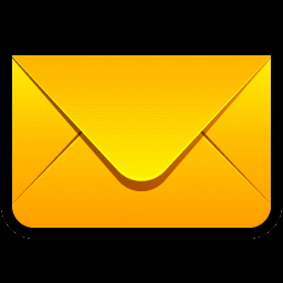 Yellow Envelope Icon, PNG ClipArt Image.