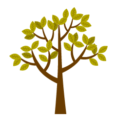Free Yellow Tree Clipart Image|Illustoon.