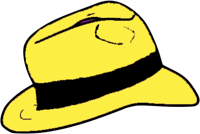 File:Yellow Fedora hat.png.