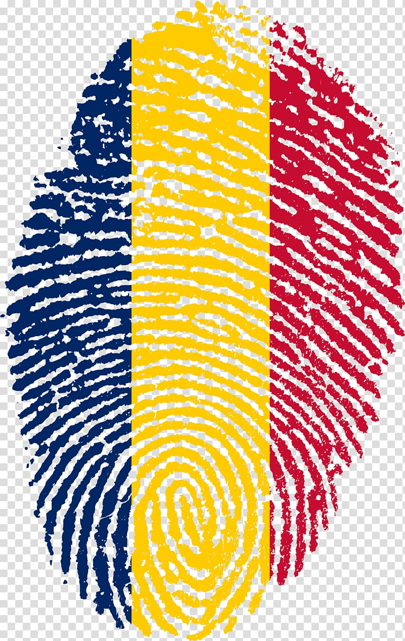 Flag of Barbados Fingerprint National flag, finger print.
