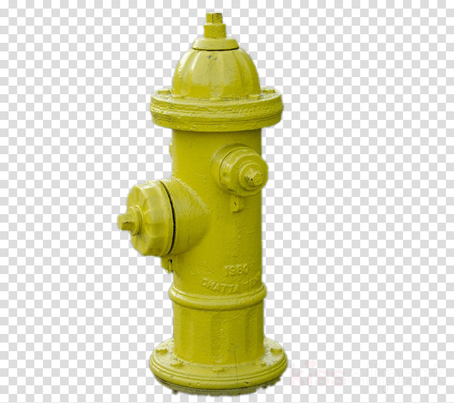 fire hydrant yellow clipart.