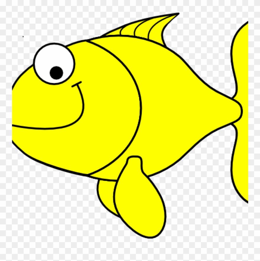 Yellow Fish Clipart Yellow Fish Clip Art At Clker Vector.